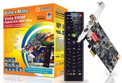 Тюнер с аппаратным кодером MPEG-2 от Compro