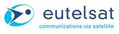 Включение транспондеров российского луча Eutelsat W7